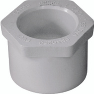 Genova 30250 1-1/2 By 1 Inch PVC Reducing Bushings Spigot X Slip