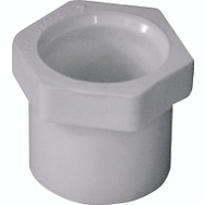 Genova 30275 3/4 By 1/2 Inch PVC Reducing Bushings Spigot X Slip