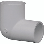 Genova 30775 3/4 By 1/2 Inch PVC 90 Degree Reducing Elbow Slip X Slip