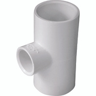 Genova 31475 1 By 1 By 1/2 Inch PVC Reducing Tee Slip