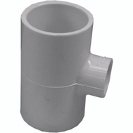 Genova 31495 1-1/2 By 1-1/2 By 1 PVC Reducing Tee Slip