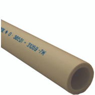 Genova 315117 1-1/4 By 60 Inch Schedule 40 White PVC Pipe