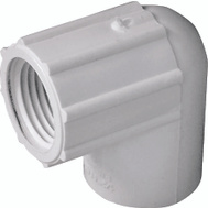 Genova 33905 1/2 Inch PVC 90 Degree Female Elbow Slip X FIP