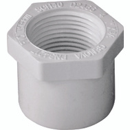 Genova 34217 1 By 3/4 Inch PVC Reducing Bushing Spigot X FIP