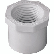Genova 34240 1-1/4 By 1 Inch PVC Reducing Bushing Spigot X FIP