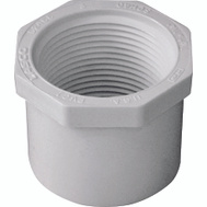 Genova 34254 1-1/2 By 1-1/4 Inch PVC Reducing Bushing Spigot X FIP