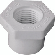 Genova 34275 3/4 By 1/2 Inch PVC Reducing Bushing Spigot X FIP