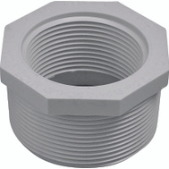 Genova 34321 2 By 1-1/2 Inch PVC Reducing Bushing MIP X FIP