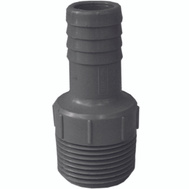 Genova 350417 1 By 3/4 Inch Poly Insert Male Reducing Adapter