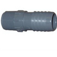 Lasco Fittings 350450 1 1/2 By 1 Inch Poly Insert Male Reducing Adapter