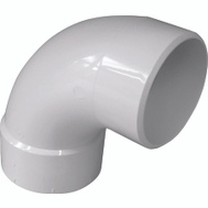 Genova 42940 90 Degree Street Elbow 4 Inch Pvc