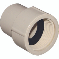 Nibco T00380D C Pvc 1/2 Inch Female Adapter