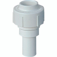 Genova 53070 Genogrip C Pvc 1/2 By 3/8 Inch Adapter