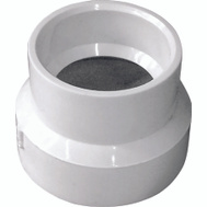 Genova 70121 2 By 1-1/2 Pvc Reducer Couplings