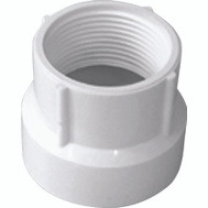 Charlotte Pipe PVC 00104  0600HA 1-1/2 By 1-1/4 Fpt Adapter