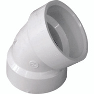 Genova 70615 1-1/2 Dwv 45 Degree Elbow