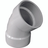 Genova 70660 6 Inch 45 Elbow