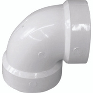 Genova 70715 1-1/2 Inch Dwv 90 Degree Vent Elbow