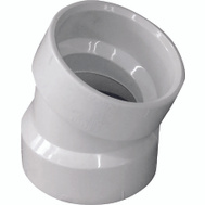 Genova 70815 1-1/2 Inch Dwv 22-1/2 Degree Elbow