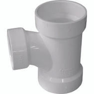 Ipex Canplas 192134 4 By 4 By 2 Hub Dwv Reducing Sanitary Tee
