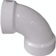 Genova 72815 1-1/2 Dwv 90 Degree Sanitary Elbow