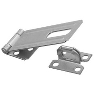 National Hardware N102-376 Safety Hasp 4-1/2 Inch Zinc Plated Steel
