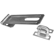 National Hardware N102-384 Safety Hasp 4-1/2 Inch Zinc Plated Steel