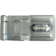National Hardware N102-855 Swivel Staple Safety Hasp 3-1/4 Inch Zinc Plated Steel