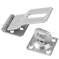 National Hardware N103-044 Swivel Staple Safety Hasp 3-1/4 Inch Galvanized Steel