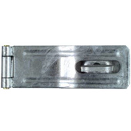 National Hardware N103-069 Swivel Staple Safety Hasp 4-1/2 Inch Galvanized Steel