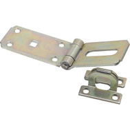 National Hardware N103-176 Extra Heavy Hinge Hasp 7-1/4 Inch Zinc Plated Steel