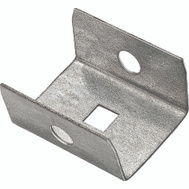 National Hardware N104-307 Box Rail End Cap Galvanized Steel