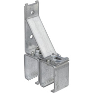 National Hardware N104-471 Splice Bracket Double Box Rail Galvanized