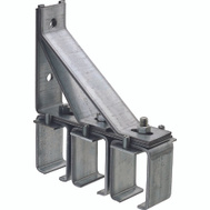 National Hardware N104-570 Triple Box Rail Splice Bracket Galvanized Steel