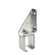 National Hardware N104-638 Single Adjustable Box Rail Bracket Galvanized Steel
