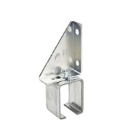 National Hardware N104-695 Single Adjustable Box Rail Splice Bracket Galvanized Steel
