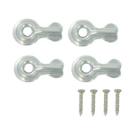 National Hardware N106-906 Half Turn Buttons 1-1/4 Inch Zinc Plated Steel 4 Pack