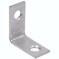 National Hardware N266-270 Corner Brace 1 By 1/2 By 0.07 Inch Zinc Plated Steel Bulk