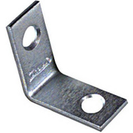 National Hardware N113-050 1 By 1/2 Inch Zinc Plated Steel Corner Braces 4 Pack