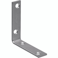 National Hardware N266-338 N266-346 Corner Brace 2-1/2 By 5/8 By 0.10 Inch Zinc Plated Steel Bulk