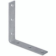 National Hardware N220-228 6 By 1-1/8 Galvanized Steel Corner Brace Bulk