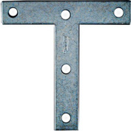 National Hardware N226-662 N113-753 T Plates 4 By 4 By 0.07 Inch Zinc Plated Steel 2 Pack