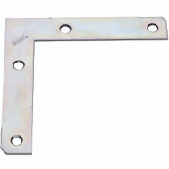 National Hardware N234-955 Flat Corner Iron Brace 5 By 7/8 By 0.07 Inch Zinc Plated Steel Bulk