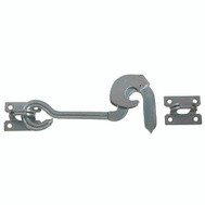 National Hardware N122-390 8 Inch Safety Gate Hook Zinc Plated Steel