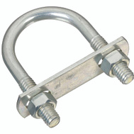 National Hardware N222-125 N130-640 5/16 Diameter By 1-3/8 Width By 2-1/2 Inch Height Zinc U Bolt
