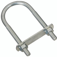 National Hardware N222-158 S162-412 5/16 Inch Diameter By 1-3/4 Inch Width By 4-1/4 Inch Height Zinc U Bolt
