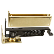 National Hardware N126-706 Floor Jamb Door Hinge Satin Brass