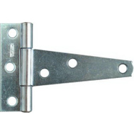 National Hardware N128-512 Light Duty T-Hinges 3 Inch Zinc Plated Steel 2 Pack