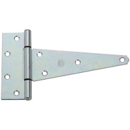 National Hardware N129-239 Heavy Duty T-Hinges 8 Inch Zinc Plated Steel 2 Pack
