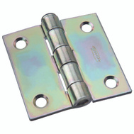 National Hardware N139-683 Removable Pin Broad Hinge 2 Inch Zinc Plated Steel
